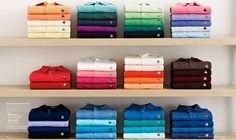 I want all of these polo shirts.