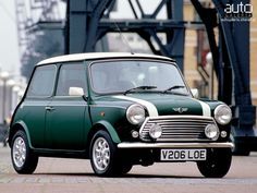 Classic Mini Cooper - Seeing these as a kid probably explains the attraction of the new Mini
