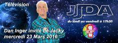 Télévision IDF1 Dan Inger invité du JJDA de Jacky mercredi 23 Mars