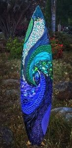 Totally cool! Mosaic Glass Surfboards