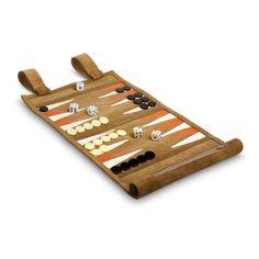 Backgammon de viaje. Para llevar la diversión a todos lados. #juegosdemesa #backgammon #articulosdepiel #hechoamano #handmade #artesanias #artesaniasmexicanas #juegos #viaje