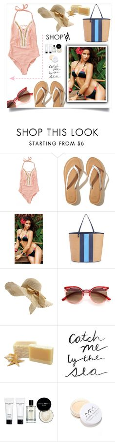 """""""Shopaa #15"""" by samra-bv ❤ liked on Polyvore featuring Beach Bunny, Hollister Co., Draper James, Bobbi Brown Cosmetics, Modern Minerals, beach, bikini, summerstyle and summervibes"""