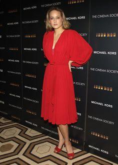 "Leelee Sobieski Photos: The Cinema Society & Michael Kors Host A Screening For ""Iron Man"" At TFF"