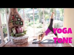 Yoga for weight loss, Fat burning yoga: Full Length 40-Minute Yoga Tone Workout