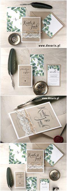 Zaproszenia na ślub z motywem #eukaliptus #decoris #decorisweddingcollection #zaproszenia #zaproszeniaslubne #eucalyptus #motywnaslub #rustykalnezaproszenia #bohoslub #bohozaproszenia #kwiatowezaproszenia #botaniczne #greenery #zielonyslub #pomyslnazaproszenia #zaproszenienawesele #wesele