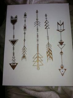 geometric arrow tattoos - Tattoos Are Great