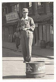 Traffic police, Inchon 1951