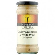 Meridian Free From Mushroom & Wine Sauce 350g  http://www.nombox.co.uk/index.php?route=product/product_id=402_id=6222