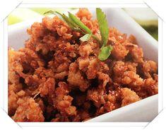น้ำพริกหมูสับกากหมู