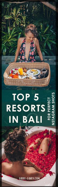 Top 5: Best Resorts in Bali (Ubud & Canggu) - Fruit Fairy
