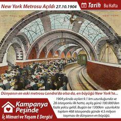 #tarih #newyork #metro #1904 #acilis