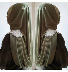 Hijab Elegante, Hijab Chic, Abaya Fashion, Fashion Outfits, Womens Fashion, Bridal Hijab Styles, Turban Hijab, Abaya Designs, Hijab Tutorial