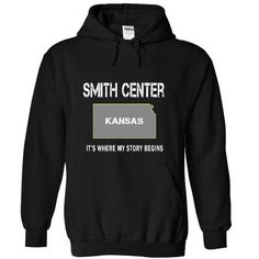 Names SMITH CENTER - Its where my story begins! T shirts