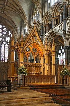 La catedral de Lincoln en el arte precioso