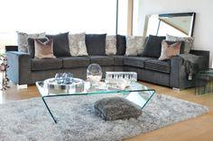 Natalia Corner Sofa from Harvey Norman Ireland Harvey Norman, Corner Sofa, Ireland, Sweet Home, Couch, Living Room, Bedroom, Places, Furniture