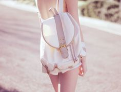 #backpack #korean #style #fashion #pink #white