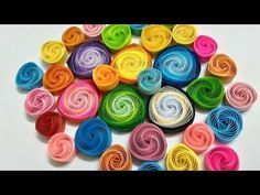 How to make vortex coils with a slotted quilling tool - Part 1 - YouTube
