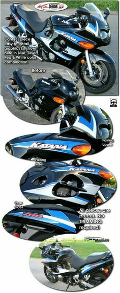 2006 suzuki katana 600 liked on polyvore trans pinterest motorcycle specific graphic kits for suzuki katana from auto trim design dress up your bike and will set you apart from the pack fandeluxe Gallery