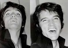 Elvis at a press conference in International Hotel, Las Vegas, August 1st, 1969