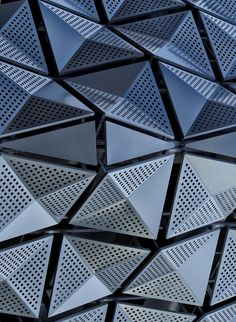 Visions of the Future // Architecture Archives - leManoosh Architecture Design, Parametric Architecture, Parametric Design, Facade Design, Architecture Geometric, Partition Design, Creative Architecture, Tile Design, Building Skin