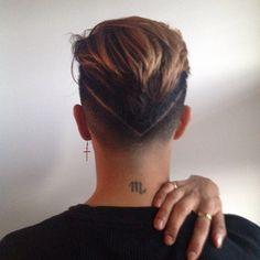 Back View #undercut
