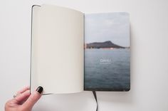 Moleskine photobook, looks just perfect!