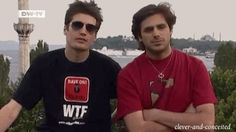 In Istanbul (to Constantinople! Sorry about the earworm...) #2cellos #my2cellosgifs #LukaSulic #StjepanHauser