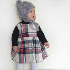 Cuuuute  @ivy.amelia #acornkids #kidshats #kidsbeanies #hats #beanies #handknitted #handmade #merinowool #fairtrade #fairtradefashion #ethical #cute #cutekids #winterfashion #winterstyle #accessories #cableknitbeanie