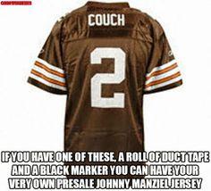 Johnny Manziel  Cleveland Browns Memes Sports