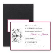 Thermo Avant Garde - Layered Pocket Invitation