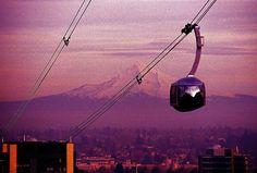 Portland, OR, aerial tram