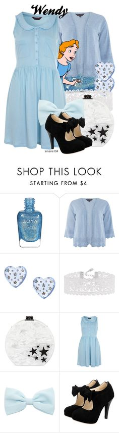 """""""Wendy"""" by amarie104 ❤ liked on Polyvore featuring Zoya, Dorothy Perkins, Nana', Betsey Johnson, Accessorize, Edie Parker and Miss Selfridge"""