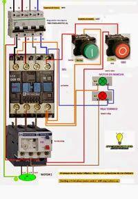 Esquemas eléctricos: Trifasico marcha y paro