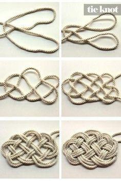 nautical rug | DIY Nautical Rope Rug http://pinterest.com/pin/21251429464282827/