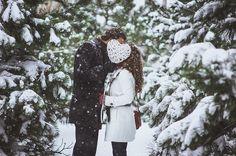 winter snow love-story