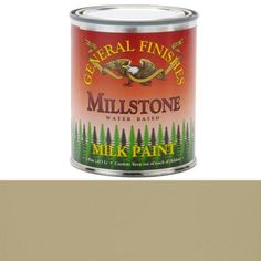 General Finishes, Millstone Milk Paint, Pint at Woodcraft.com