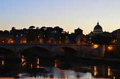 Rome | Italy St. Peter's Basilique, Tevere.