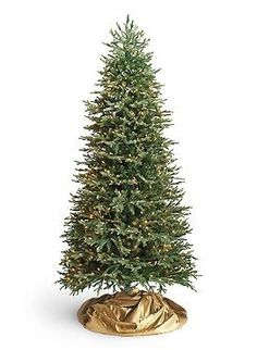 Trimming the tree will be even quicker and easier this year with the Fraser Quick Light Slim Artificial Christmas Tree that features beautiful lights and easy to assemble branches.