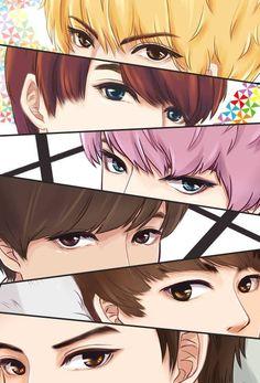 EXO fan art