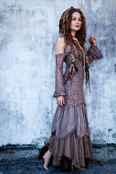 I Love this gypsy/BoHo look