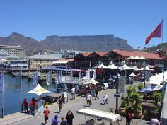 Victoria & Alfred Waterfront in Kaapstand (Zuid-Afrika)