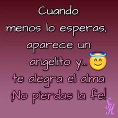 Cuando menos lo esperas aparece un angelito y... te alegra el alma No pierdas la fe! #love #instagood #me #angel #fe #felicidad #happy #alegria #alma #photooftheday #tagsforlikes #beautiful #girl #picoftheday #like #smile #like4like #fun #friends #instadaily #igers #instalike #amazing #follow4follow #bestoftheday #photogrid @photogridorg