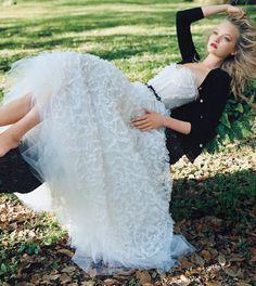 Model: Gemma Ward | Photographer: Arthur Elgort