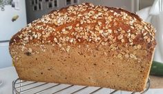 semienková tehlička Bread, Blog, Brot, Blogging, Baking, Breads, Buns