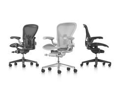 AERON CHAIR - Designer Office chairs from Herman Miller ✓ all information ✓ high-resolution images ✓ CADs ✓ catalogues ✓ contact information ✓. Smart Materials, Herman Miller Aeron Chair, Human Centered Design, Office Environment, Body Heat, Black Leather, Office Chairs, Office Furniture, Furniture Design