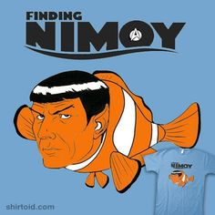 Finding Nimoy T-Shirt