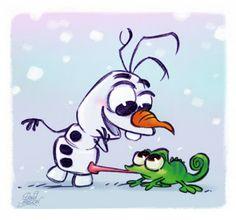 David Gilson: Olaf et Pascal