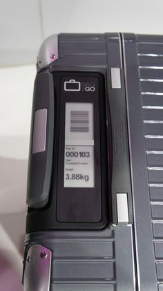Deutsche Telekom's T-Systems & Rimowa developed a line of suitcases with GPS, Wi-Fi and GSM to help users keep track of them. There's also a built in scale with e-ink display