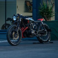 1976 Honda CB550 'SDNO' Cafe Racer by NCT Motorcycles