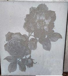 Graphic Concrete, peony, China